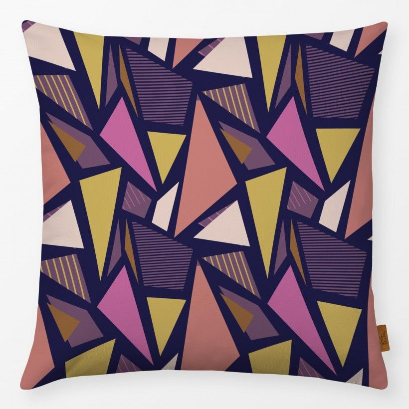 Kissen Color Blocking Triangles 2