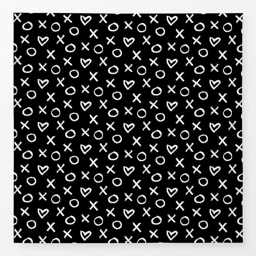 Tablecloth XO Heart 2
