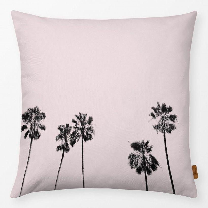 Kissen Blush Palm Trees