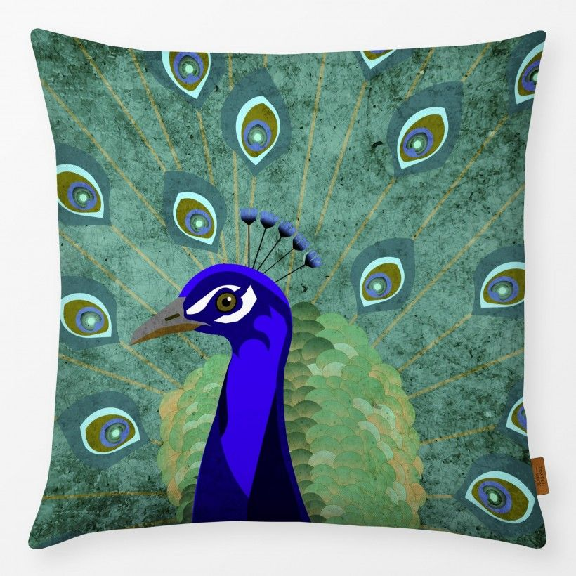 Pillow Peacock