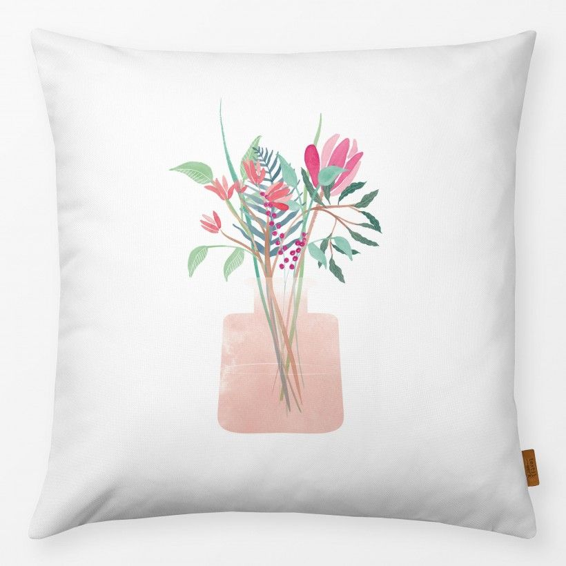 Pillow Flower Bouquet Blush