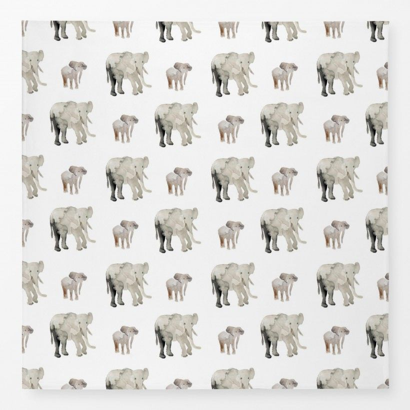 Tablecloth Elephant Pattern