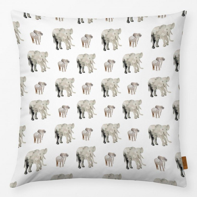 Pillow Elephant Pattern