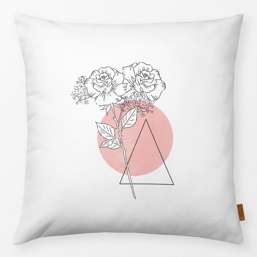Pillow Tattoo Rose Blush