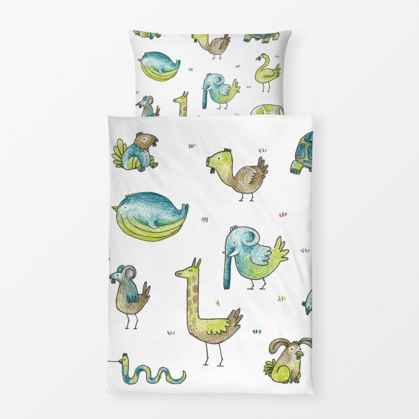 Bed linen Papa Huhns uneheliche Kinder