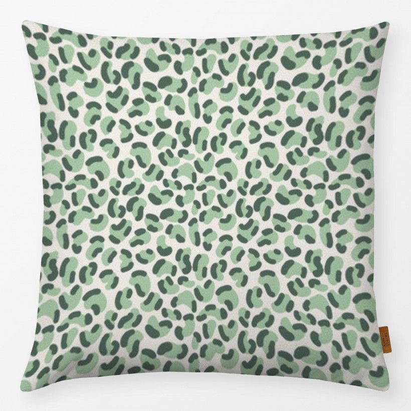 Pillow Green Leopard