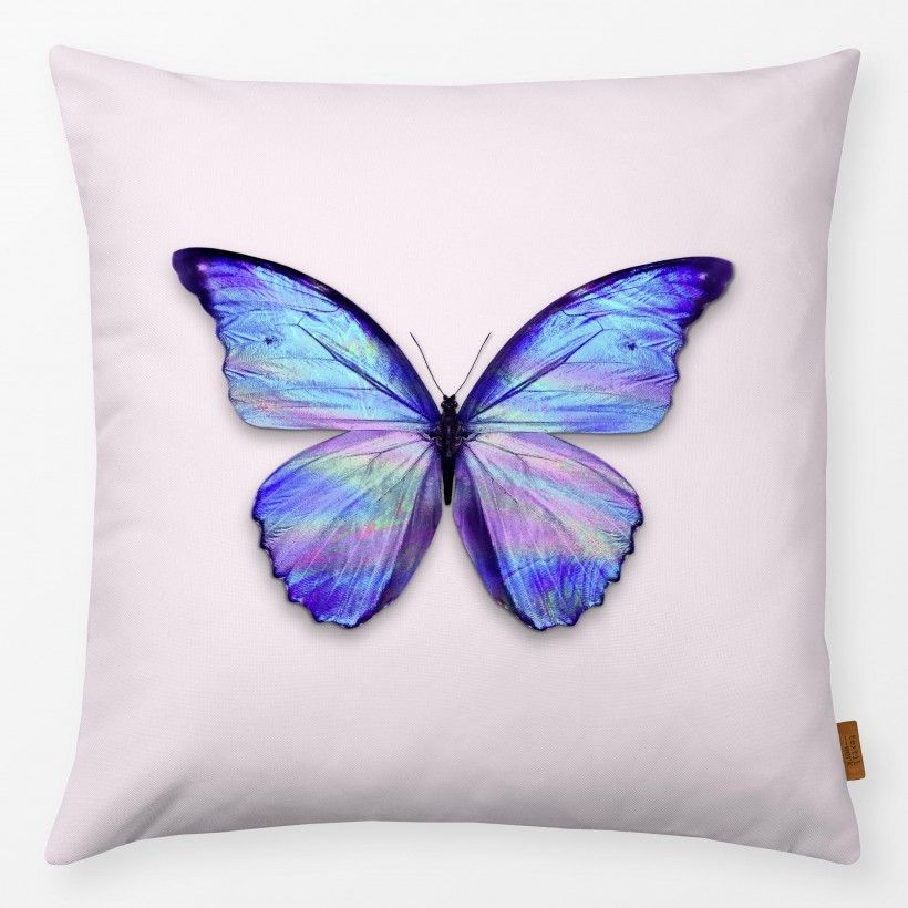 Kissen Holographic Butterfly