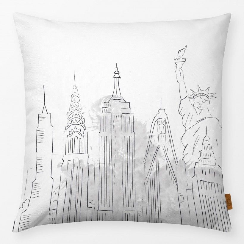 Pillow NYC Sketch