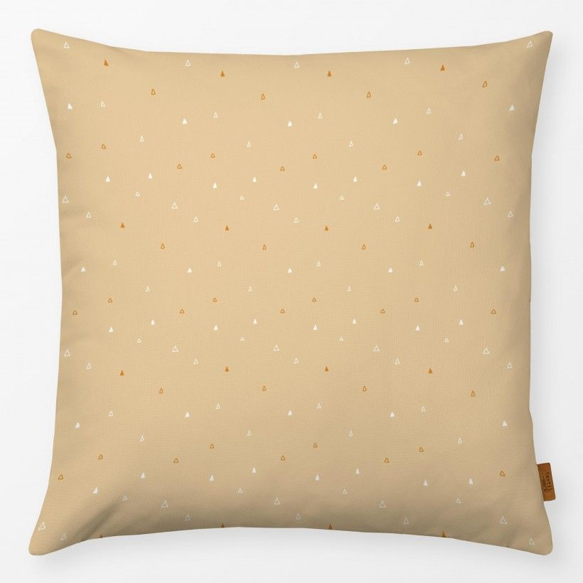 Pillow Triangle rose