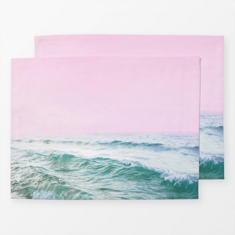 Table mat Pink Ocean
