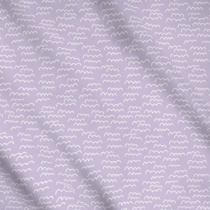 Meterware Lavender Waves