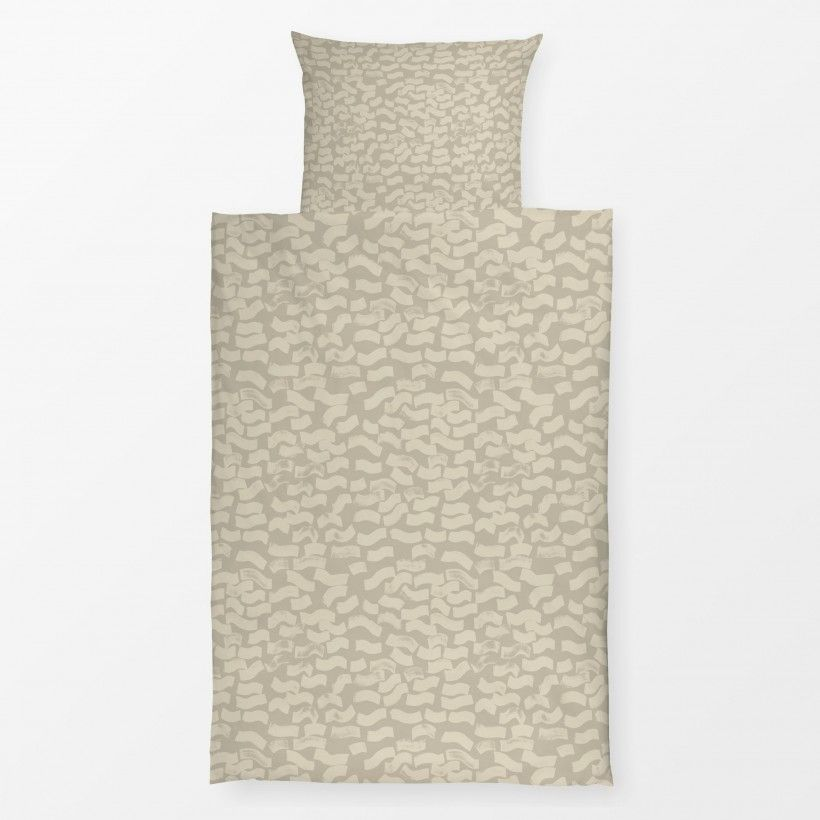 Bed linen brushy cream