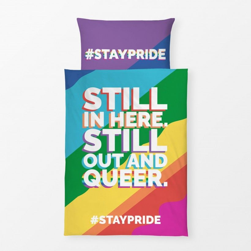 Bettwäsche Still Out And Queer #staypride