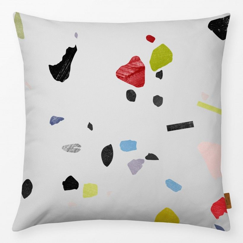 Pillow Painted Terrazzo 1