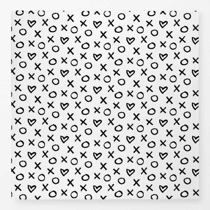 Tablecloth XO Heart