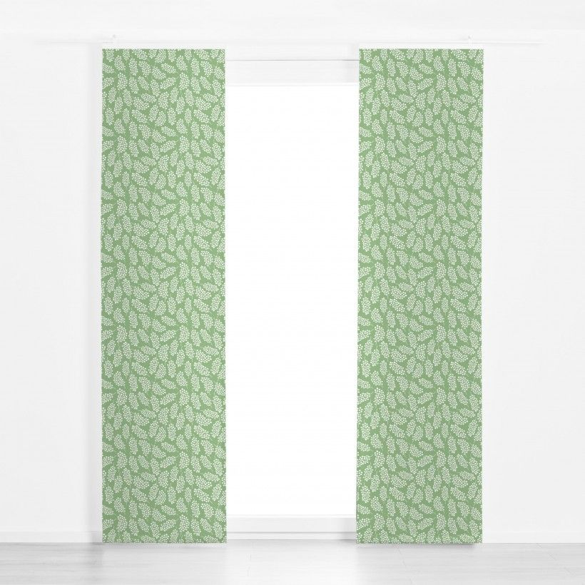 Panel curtain White Berrys