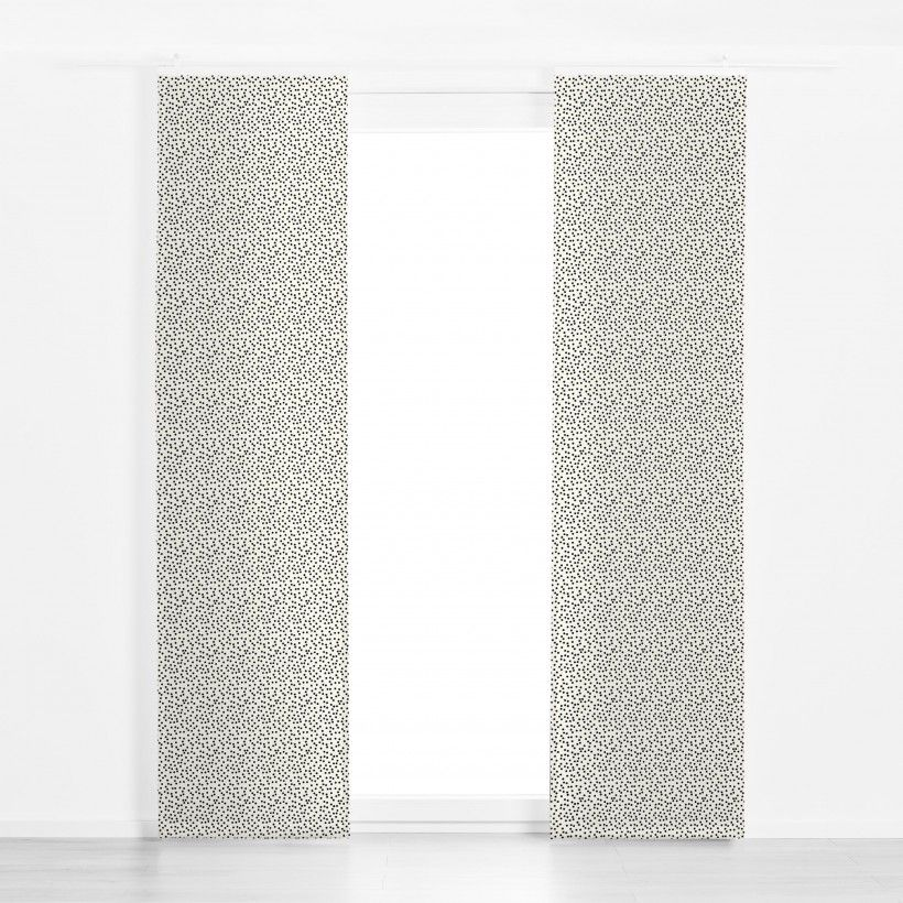 Panel curtain Dots