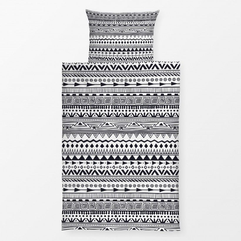 Bed linen Black And White 3