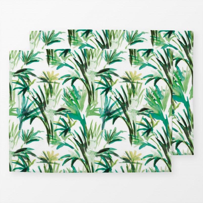 Table mat Palmtree 8