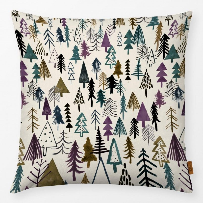 Kissen NIGHT FOREST PURPLE OCHRE