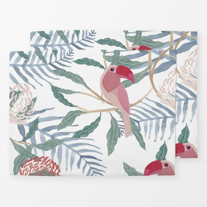 Table mat Tucan
