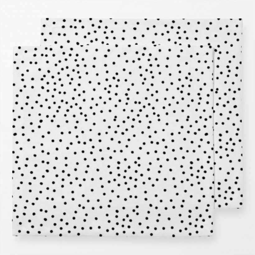 Servietten Dots BW