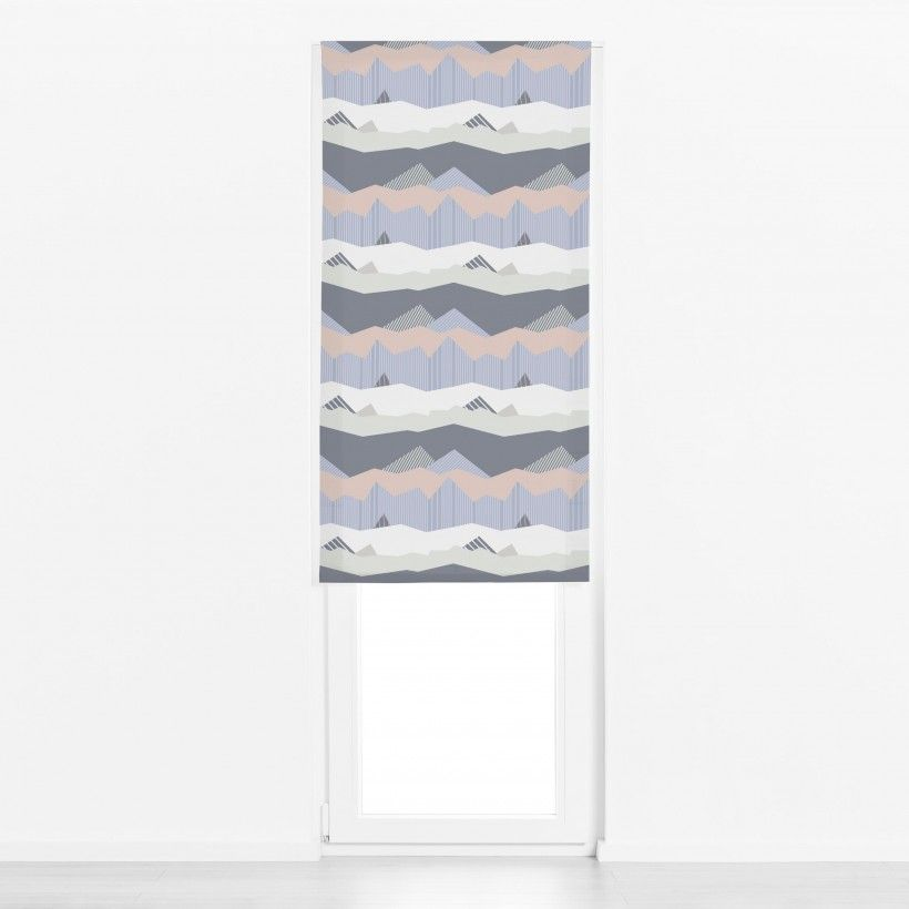 Roman blind Color Blocking Landscape 1
