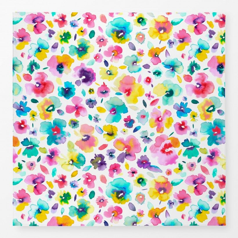 Tischdecke Tropical Flowers Multicolored