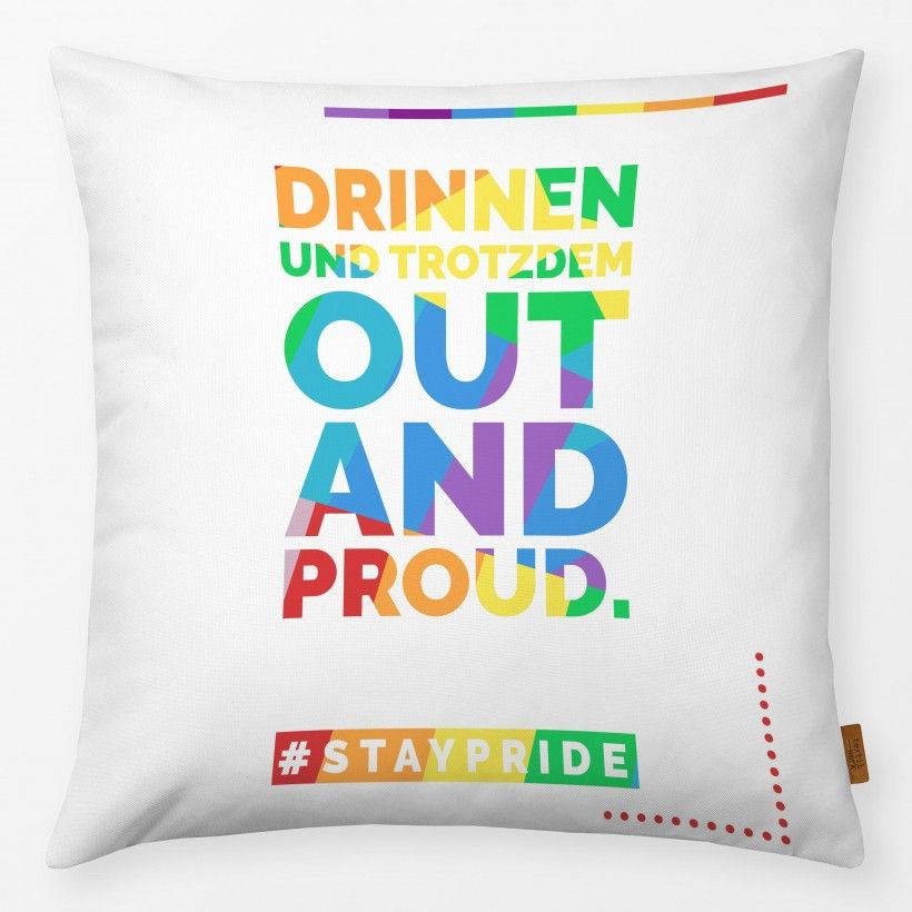 Kissen Out And Proud 2 #staypride