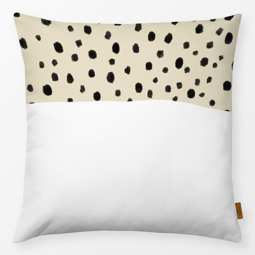Kissen DOTS AND WHITE