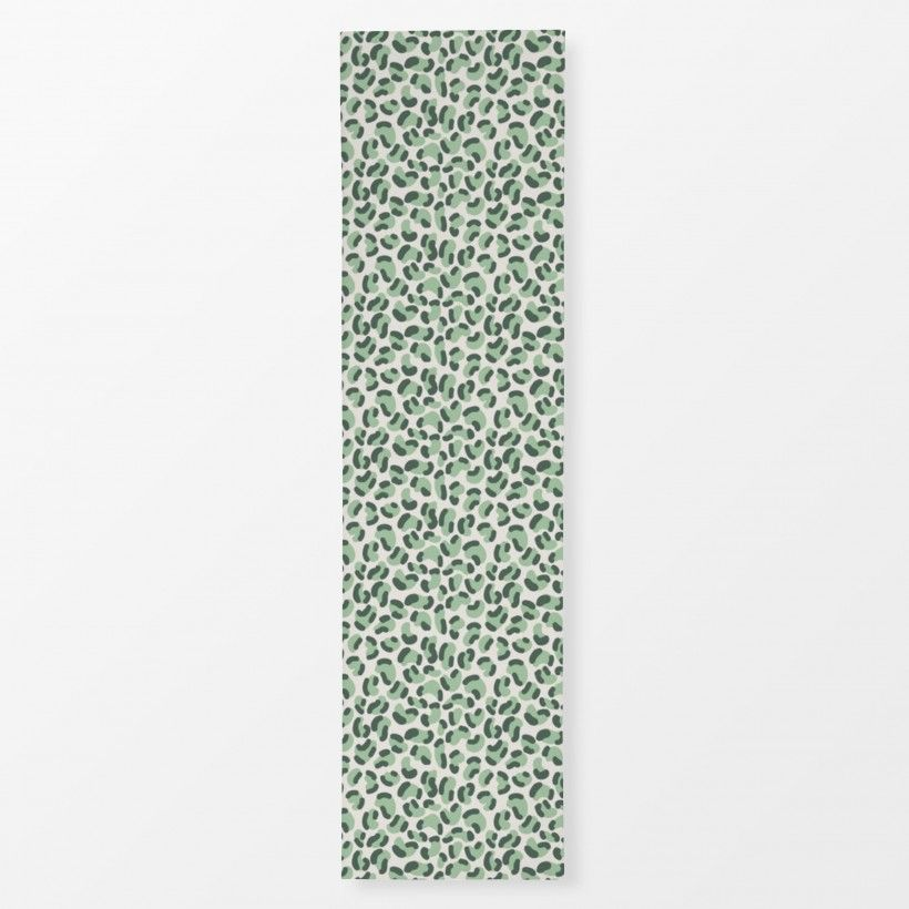 Table runner Green Leopard